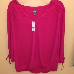 Brand new beautiful hot pink blouse
